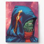 Evil Alien Diplomat Art by Al Rio Plaques