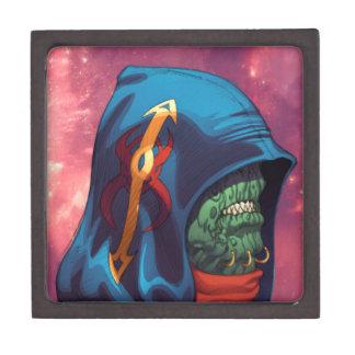 Evil Alien Diplomat Art by Al Rio Premium Gift Boxes