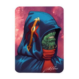 Evil Alien Diplomat Art by Al Rio Magnets