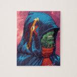Evil Alien Diplomat Art by Al Rio Puzzles