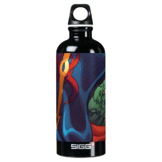 Evil Alien Diplomat Art by Al Rio SIGG Traveler 0.6L Water Bottle