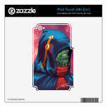 Evil Alien Diplomat Art by Al Rio Decal For iPod Touch 4G
