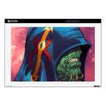 "Evil Alien Diplomat Art by Al Rio Decal For 17"" Laptop"
