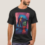 Evil Alien Diplomat Art by Al Rio T-Shirt