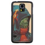 Evil Alien Diplomat Art by Al Rio Carved® Maple Galaxy S5 Slim Case