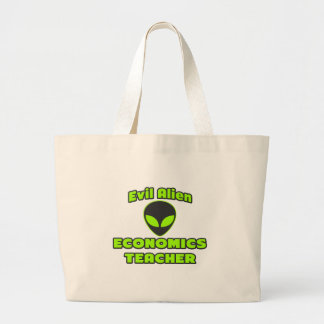 Evil Alien Economics Teacher Tote Bag