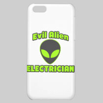 Evil Alien Electrician Cover For iPhone 5C
