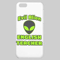 Evil Alien English Teacher Case For iPhone 5C