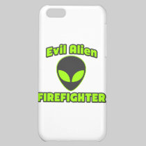 Evil Alien Firefighter iPhone 5C Covers