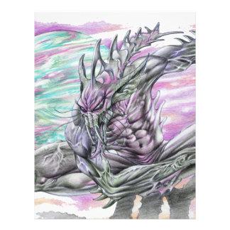 Evil Alien Monster Futuristic Sci-Fi by Al Rio Custom Flyer