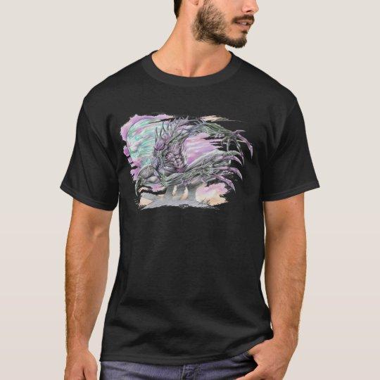Evil Alien Monster Futuristic Sci-Fi by Al Rio T-Shirt