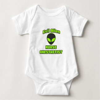Evil Alien Nurse Anesthetist Baby Bodysuit