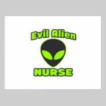 Evil Alien Nurse Postcards
