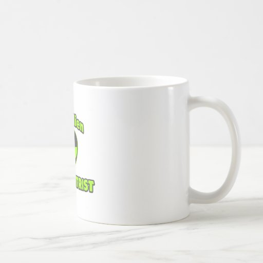 Evil Alien Optometrist Coffee Mug