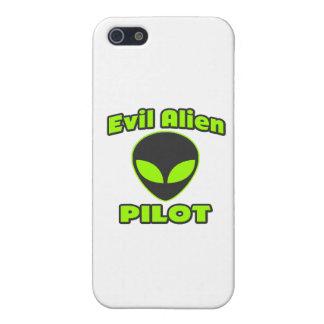 Evil Alien Pilot Cover For iPhone SE/5/5s