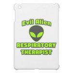 Evil Alien Respiratory Therapist iPad Mini Cover