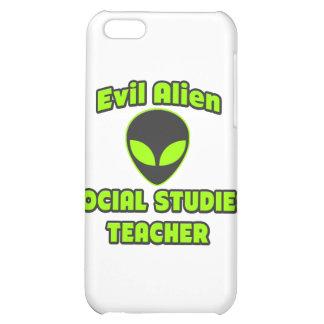 Evil Alien Social Studies Teacher iPhone 5C Cases