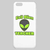 Evil Alien Teacher iPhone 5C Case