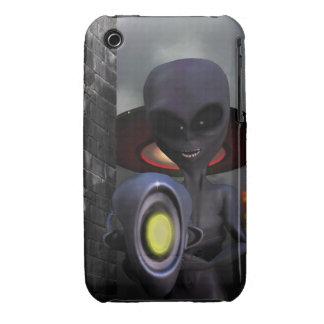 Evil Aliens Case-Mate iPhone 3 Case