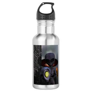 Evil Aliens Stainless Steel Water Bottle