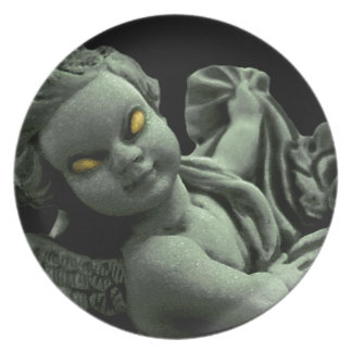 Evil Angel Party Plate