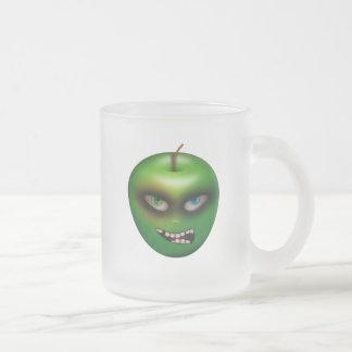 {Evil Apple} Frosted Glass Mug