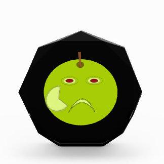 Evil Apple with Scar Halloween Decoration Award