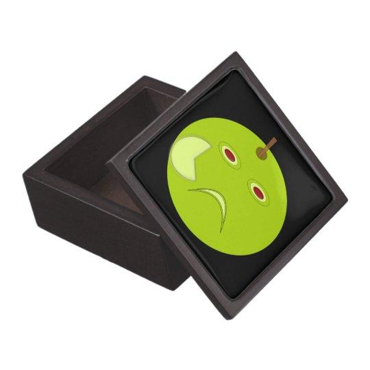 Evil Apple with Scar Halloween Premium Gift Box