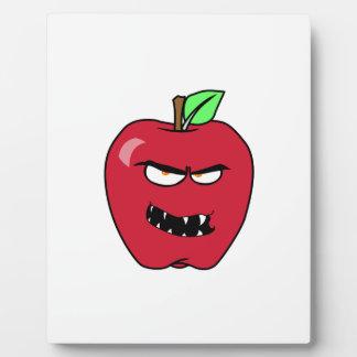Evil Bad Apple Plaque