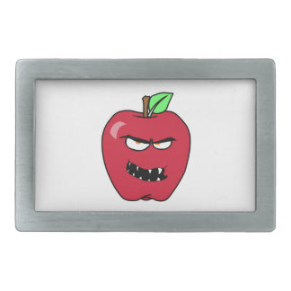 Evil Bad Apple Rectangular Belt Buckle
