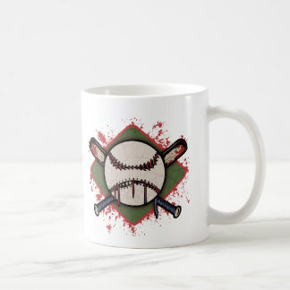 Evil Ball & Cross Bats Coffee Mug
