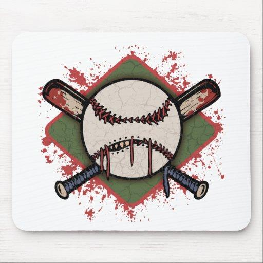 Evil Ball & Cross Bats Mouse Pad
