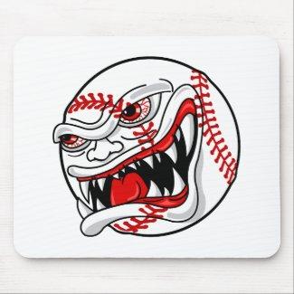 Evil Baseball mousepad