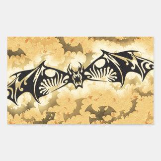 Evil Bat Rectangular Sticker