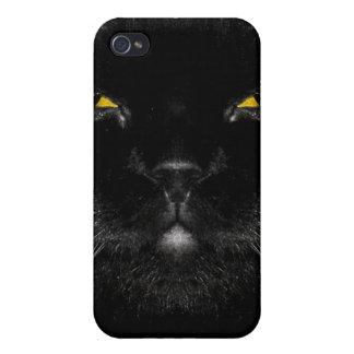 Evil Black Cat iPhone4 Cover