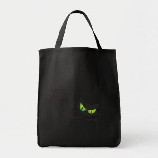 Evil Black Cat Trick or Treat Halloween Bags
