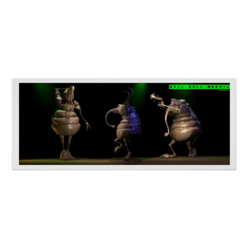 Evil Boll Weevil Poster