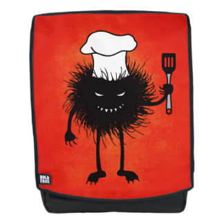 Evil Bug Chef Loves To Cook Backpack