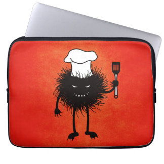 Evil Bug Chef Loves To Cook Computer Sleeve