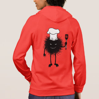 Evil Bug Chef Loves To Cook Hoodie