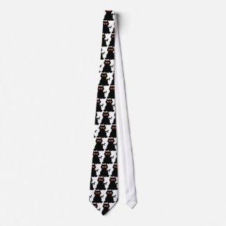 Evil Cat Tie tie