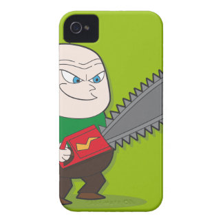 Evil Chainsaw man iPhone 4 Case-Mate Case