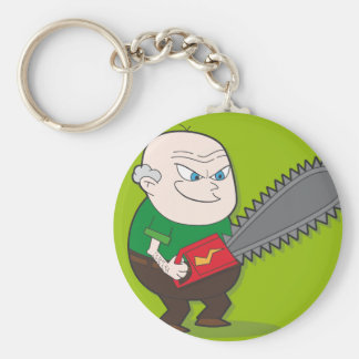 Evil Chainsaw man Keychain