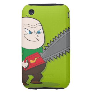 Evil Chainsaw man Tough iPhone 3 Case