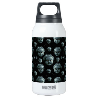 Evil Child Expression Pattern Insulated Water Bottle