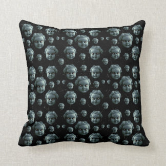 Evil Child Expression Pattern Pillows