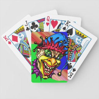 Evil Circus Clown Playing Cards