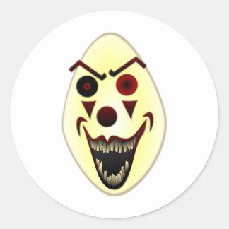 Evil Clown #2 Classic Round Sticker