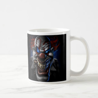 Evil Clown And Cigar Coffee Mug