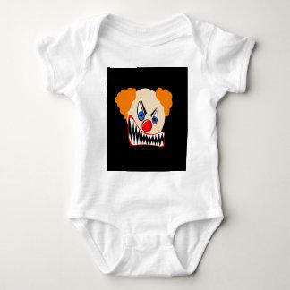 Evil Clown Baby Bodysuit